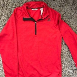 Reebok Men's Red Pullover Hoodie Medium